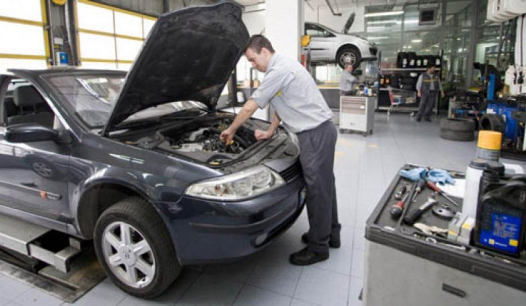 reparación de cuadro Renault